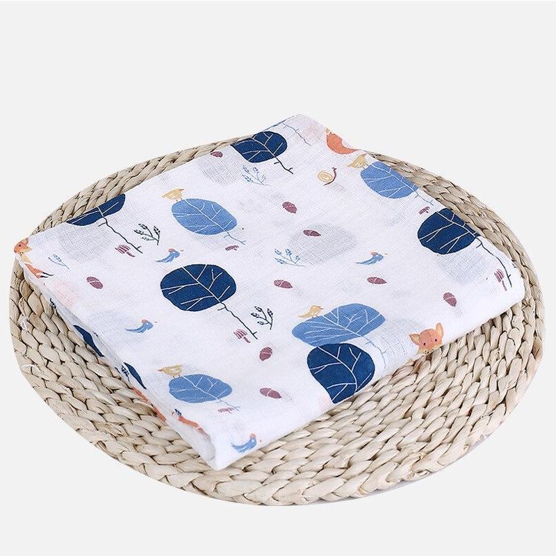 1Pc Muslin Cotton <font><b>Baby</b></font> Blankets Gauze Wrap sleepsack Play Mat