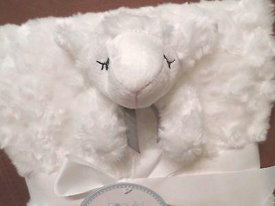 Lollypop 2 Baby Blanket Set Rosette Blanket/Little Lamb Security
