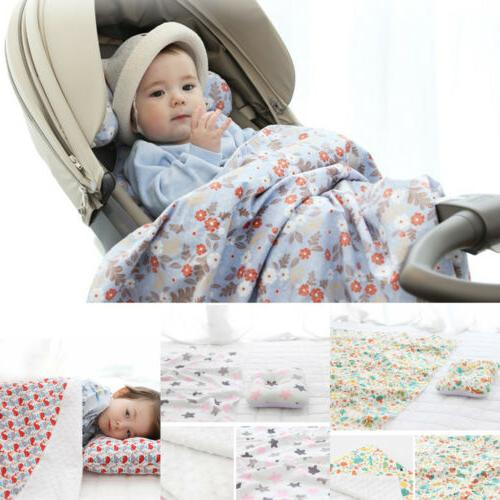 75*100cm Baby Blanket/Crib Quilt Soft Minky Double Dotted Ba