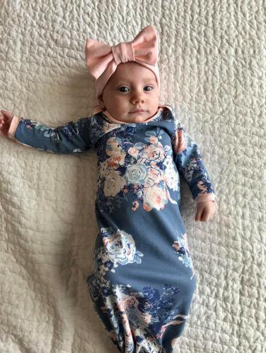 Newborn Baby Swaddle Blanket Baby Sleeping Bag Swaddle Musli