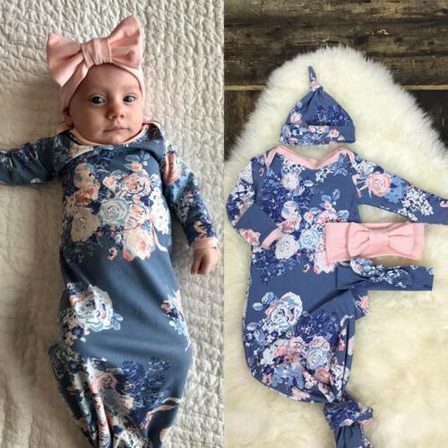 US Newborn Infant Baby Swaddle Blanket Sleeping Swaddle Musl