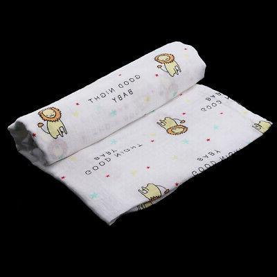 2pcs Infant Cotton Blanket Boy Coming Home 110cm