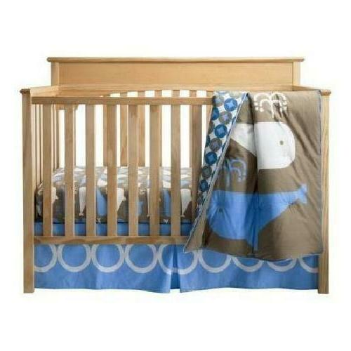 3-Piece Crib Bedding Set Comforter Baby Blanket Boys Nursery