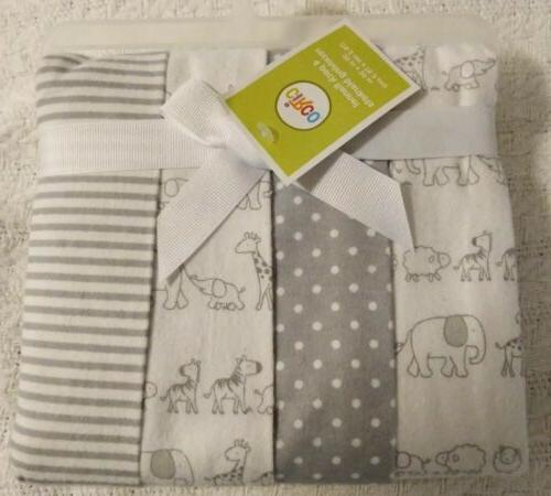 4 pack receiving blanket two by two