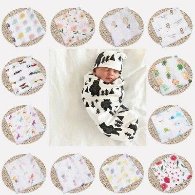 47 47 baby infant floral swaddle blanket
