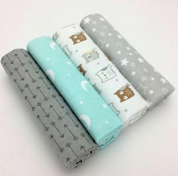 4pcs/Pack 100% Cotton Soft
