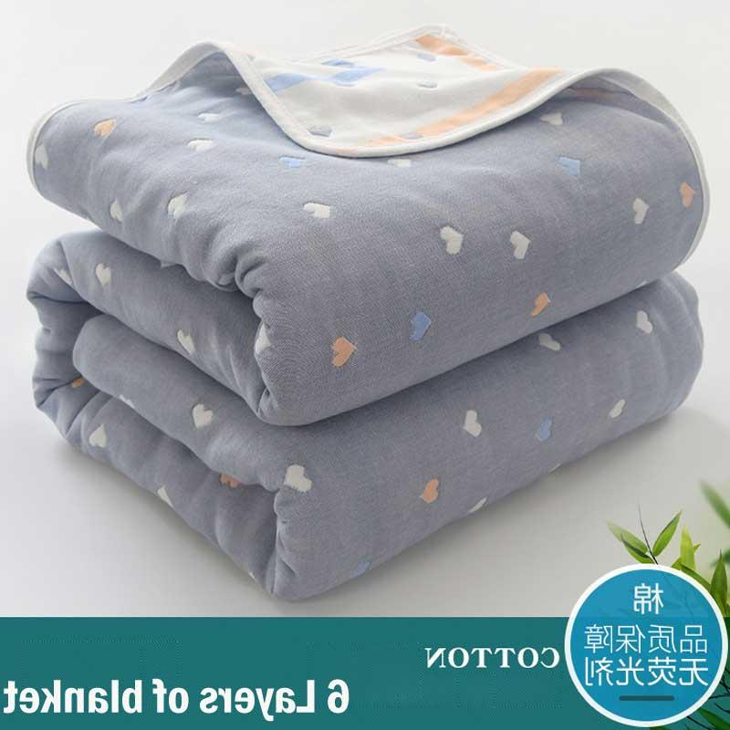 6 Layers <font><b>Baby</b></font> for Swaddle Infant <font><b>Receiving</b></font> <font><b>Baby</b></font> Bath 90*100cm
