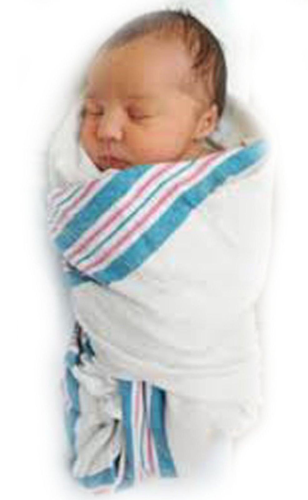 6- Baby-Infant Swaddling Hospital 30''x40'' Cotton