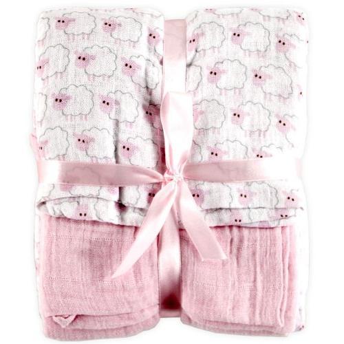 Hudson Baby Swaddle Blankets, 2