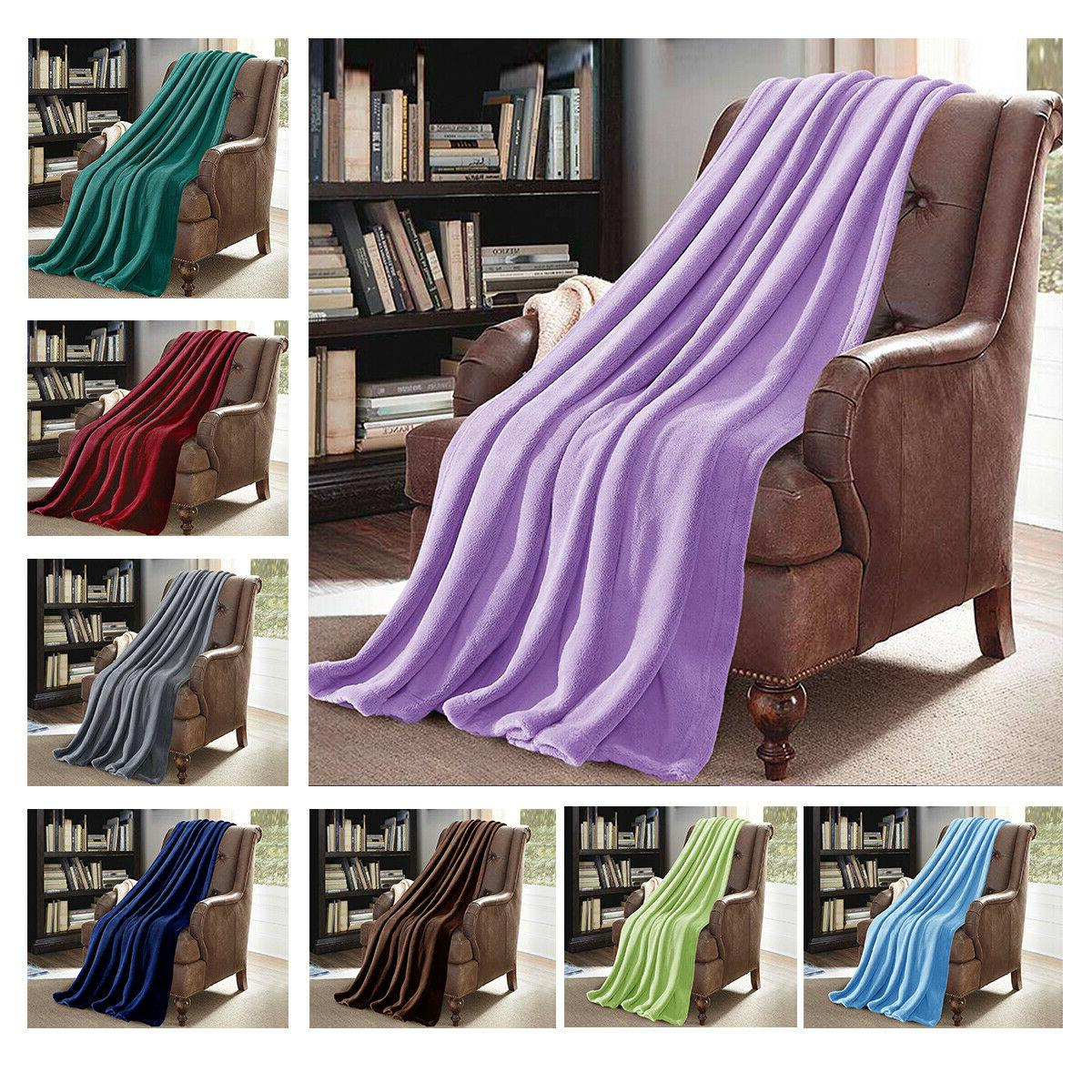 Flannel Blanket Blanket Throw Sofa