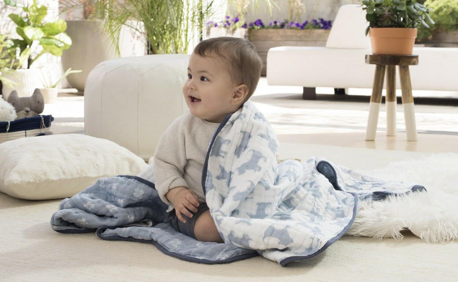 Aden & Anais Dream Blanket Waverly-Pup