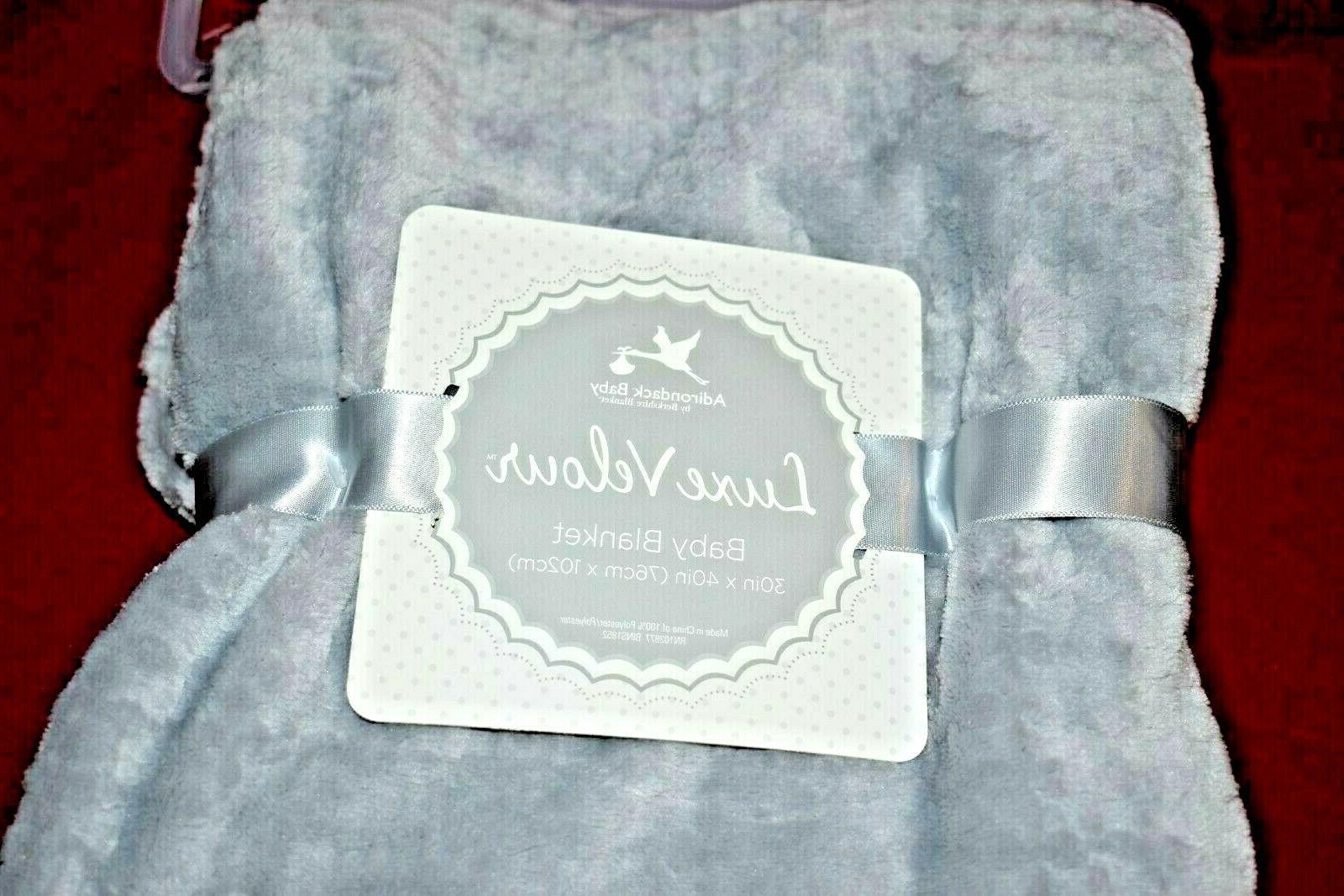 Adirondack Velour Soft x Blanket Gray