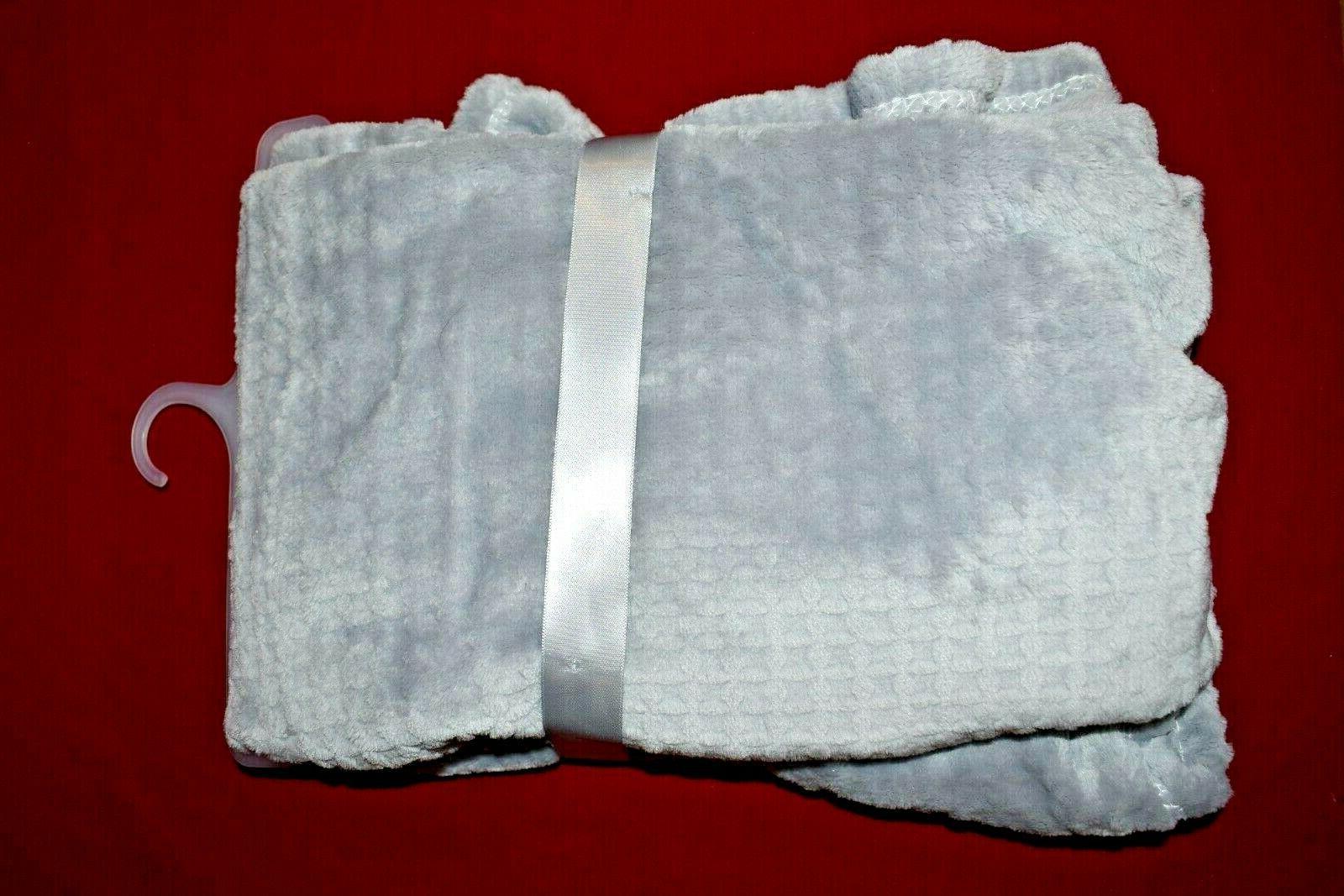 Adirondack Baby Luxe Velour Super x Blanket Gray