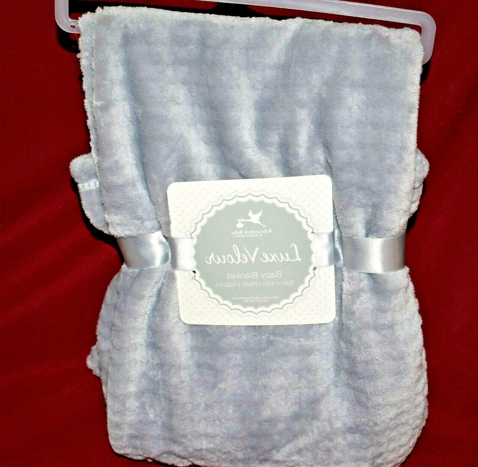 adirondack baby blanket luxe velour super soft