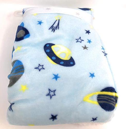 Lollypop Baby Blue Blanket 40