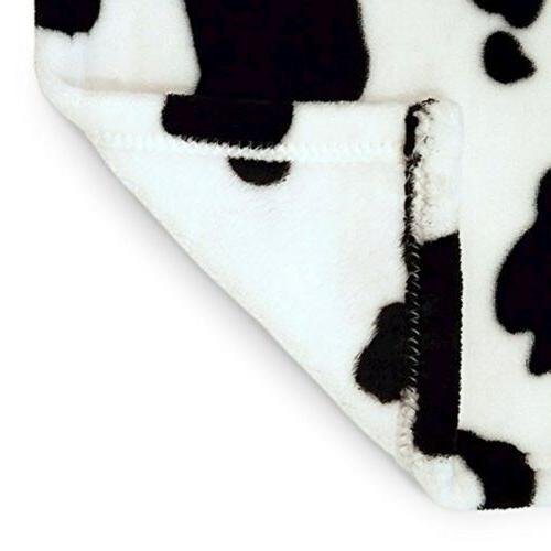 Cute Blanket, Cow Pattern