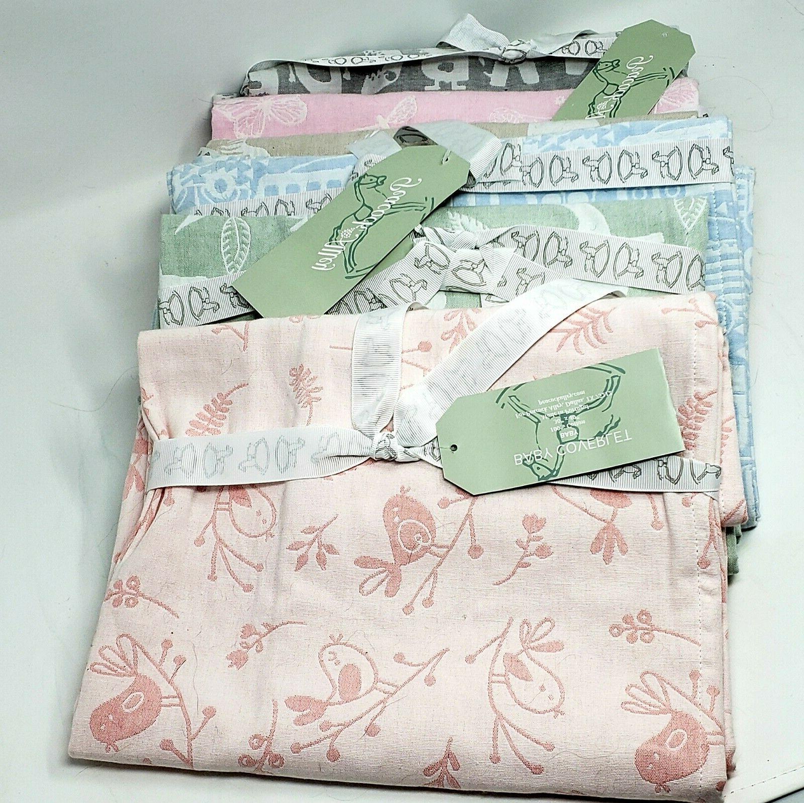 baby blanket crib coverlet jacquard msrp 135
