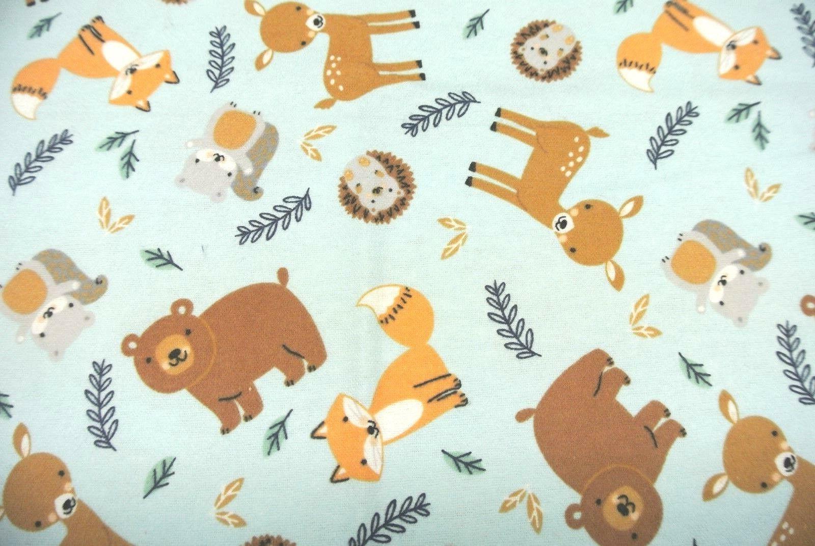 Baby Deer Hedgehogs Squirrels Be 36x40