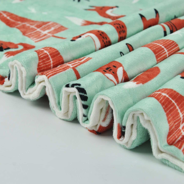 Boritar -Soft Minky Layer Toddler 30x40 Green