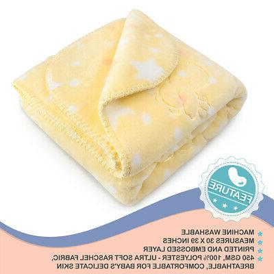 Baby for Girls Boys Toddler Soft Security Wrap Infant Blanket