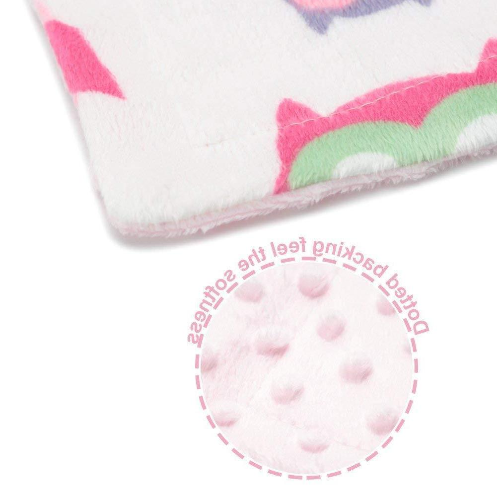 """Baby Blanket for Soft Minky Double Layer 30""""x40"""""""