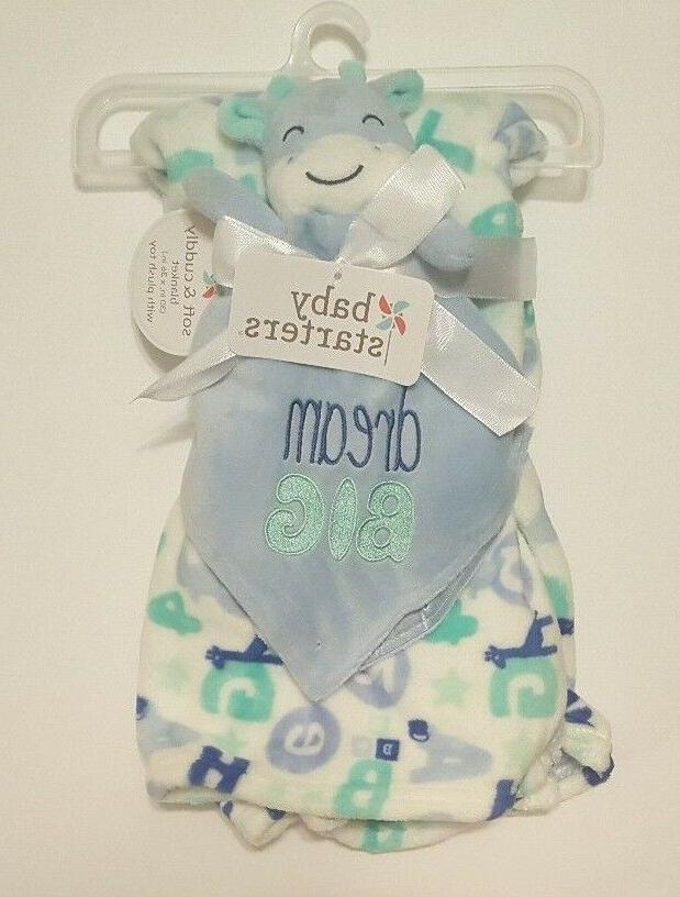 Baby Giraffe Starters Set Letters Lovey Dream