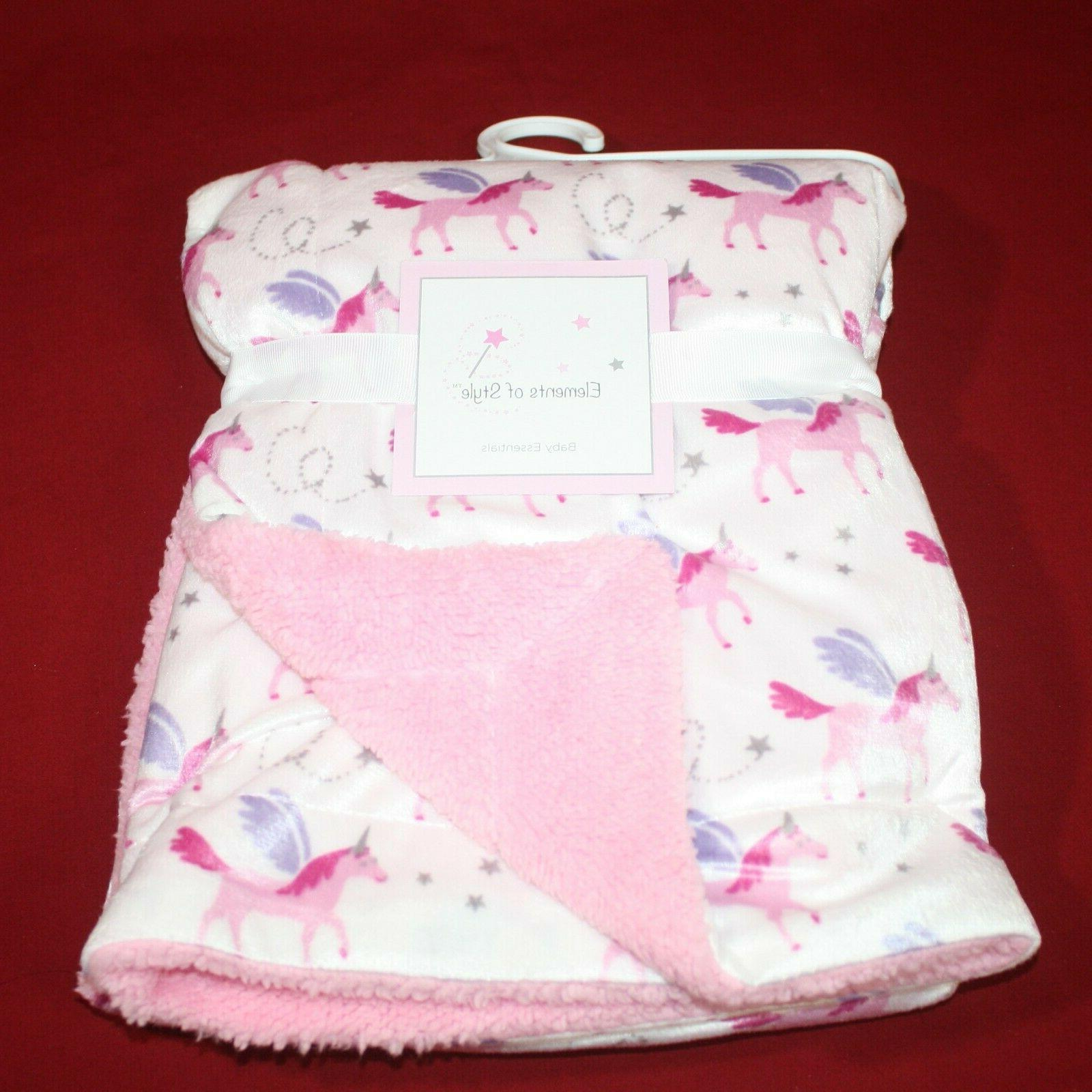 Elements of Style Baby Blanket Girls Blanket x Soft Comfy