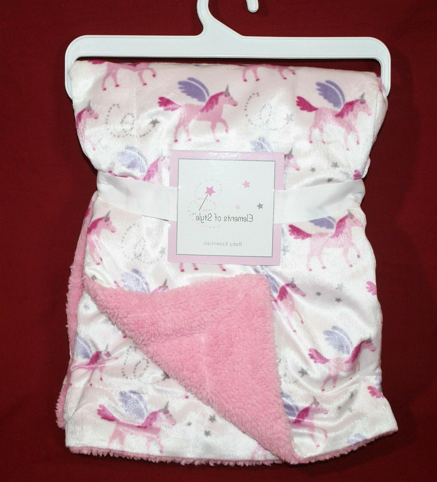 baby blanket girls pink unicorn blanket 30