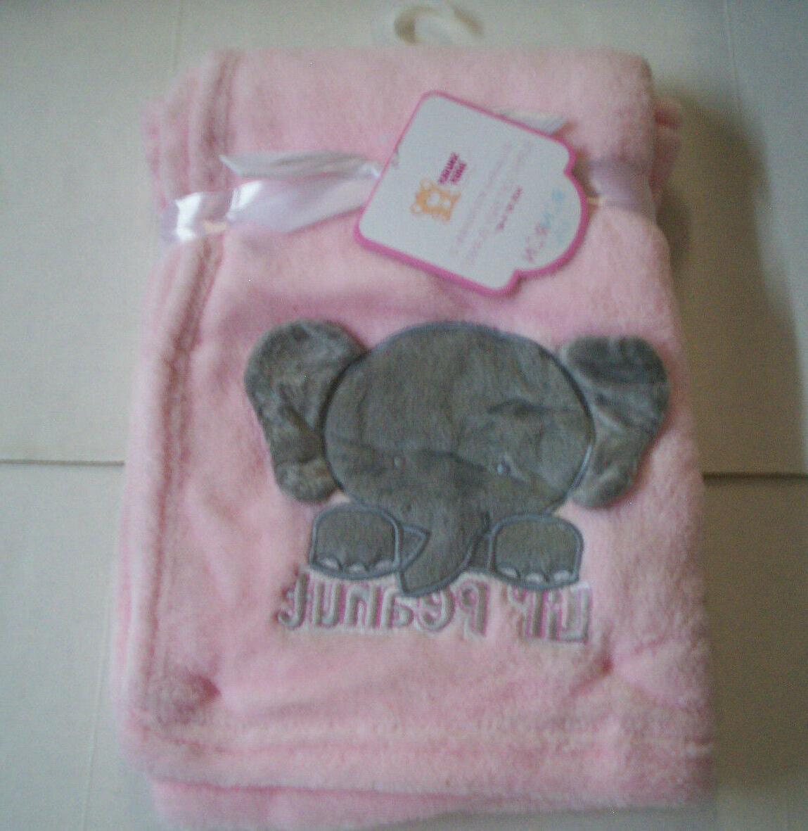 baby blanket lil peanut elephant design by