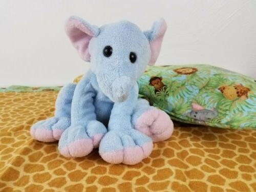 Baby New Made Pillow Case Plush Elephant