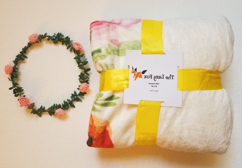 baby blanket soft fleece and free prop