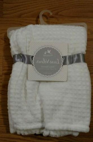 baby blanket soft luxe velour infant lovey