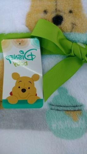 DISNEY Blanket the Pooh NEW