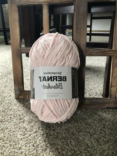 baby blanket yarn 10 5oz blush pink
