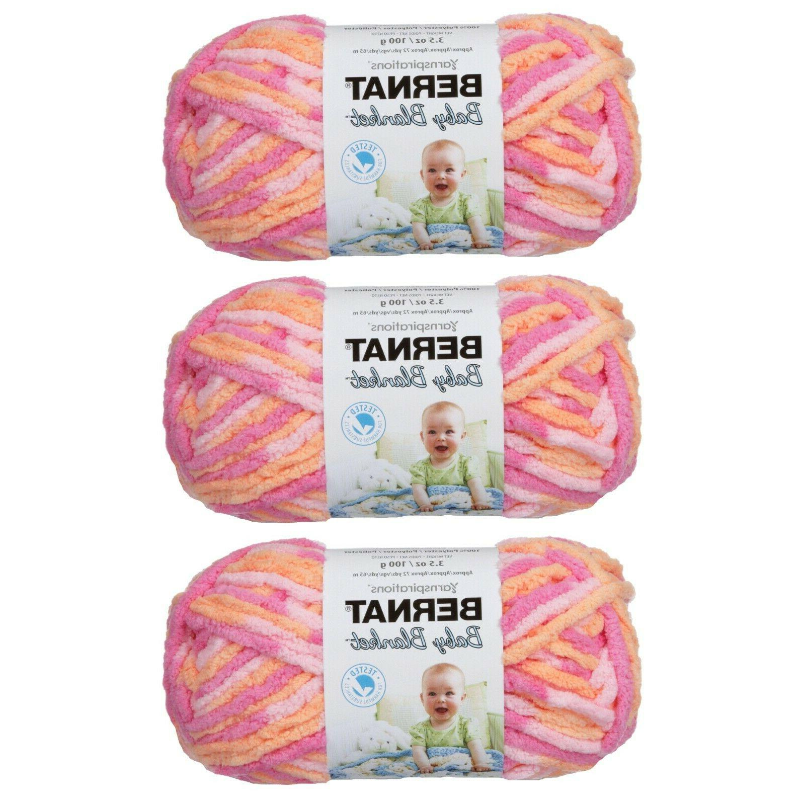 Bernat Blanket Yarn - 3 Pack