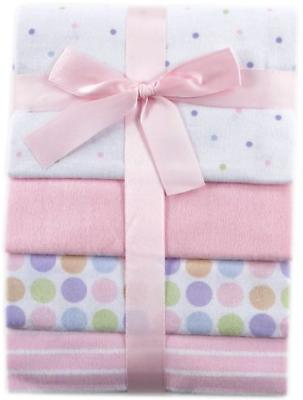 baby blankets 4 pack flannel receiving pink