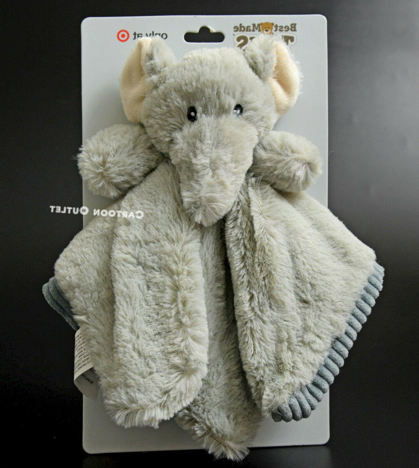 baby boy and girl security blanket elephant