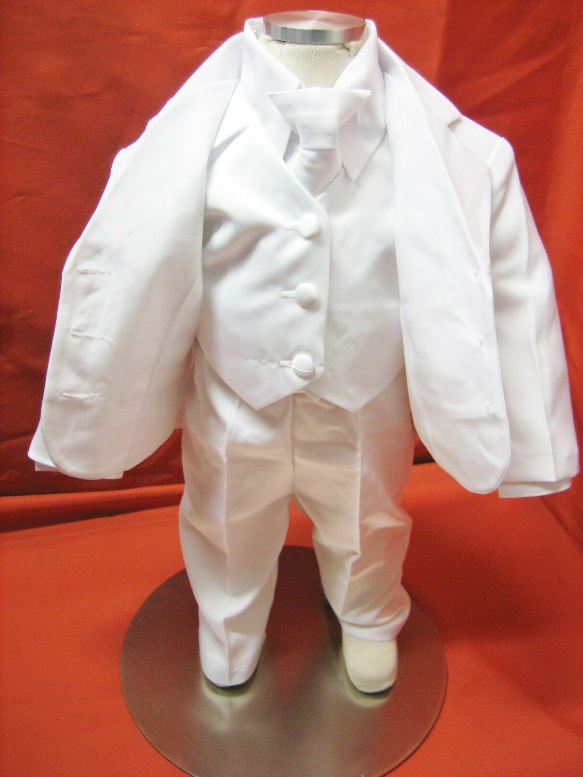Baby Christening white 5 Outfit/Sizes:XS-4T