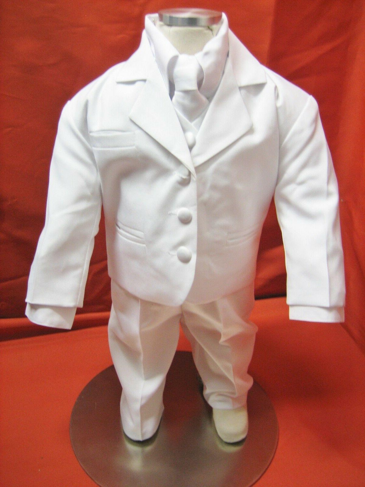 baby boy christening baptism white suit wedding