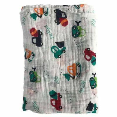Baby Girl Cotton Wrap Blanket
