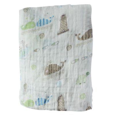 Baby Girl Muslin Cotton Newborn Infant Swaddle