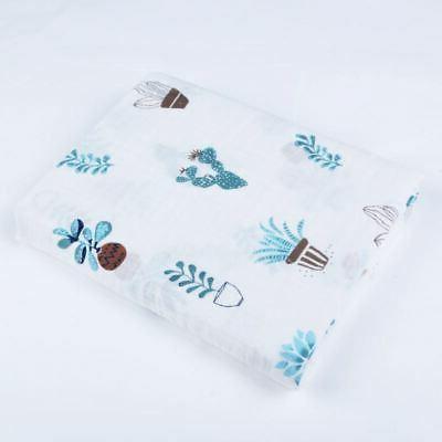 Cotton Swaddling Blanket Newborn Infant Swaddle