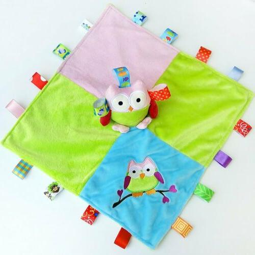 Baby Blanket Owl Stuffed
