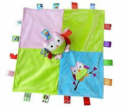 Baby Security Blanket Animal Travel Comforter