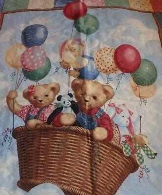 BABY CRIB ~ BEARS a HOT HOMEMADE -