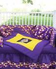 New baby 7 piece crib bedding set m/w LOS ANGELES LAKERS LA