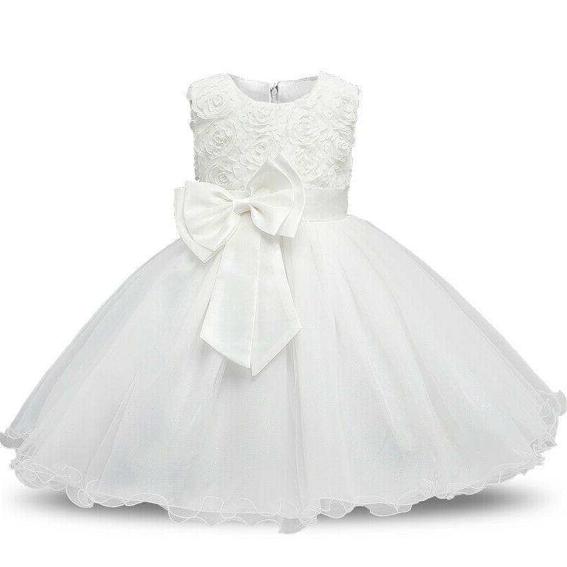 baby girl christening dress 1 year birthday