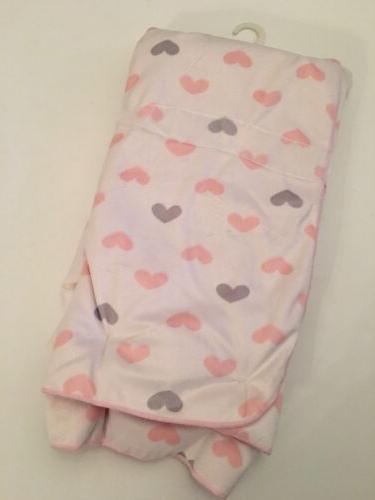 Lollypop Baby Girl Print Blue Sherpa Blanket