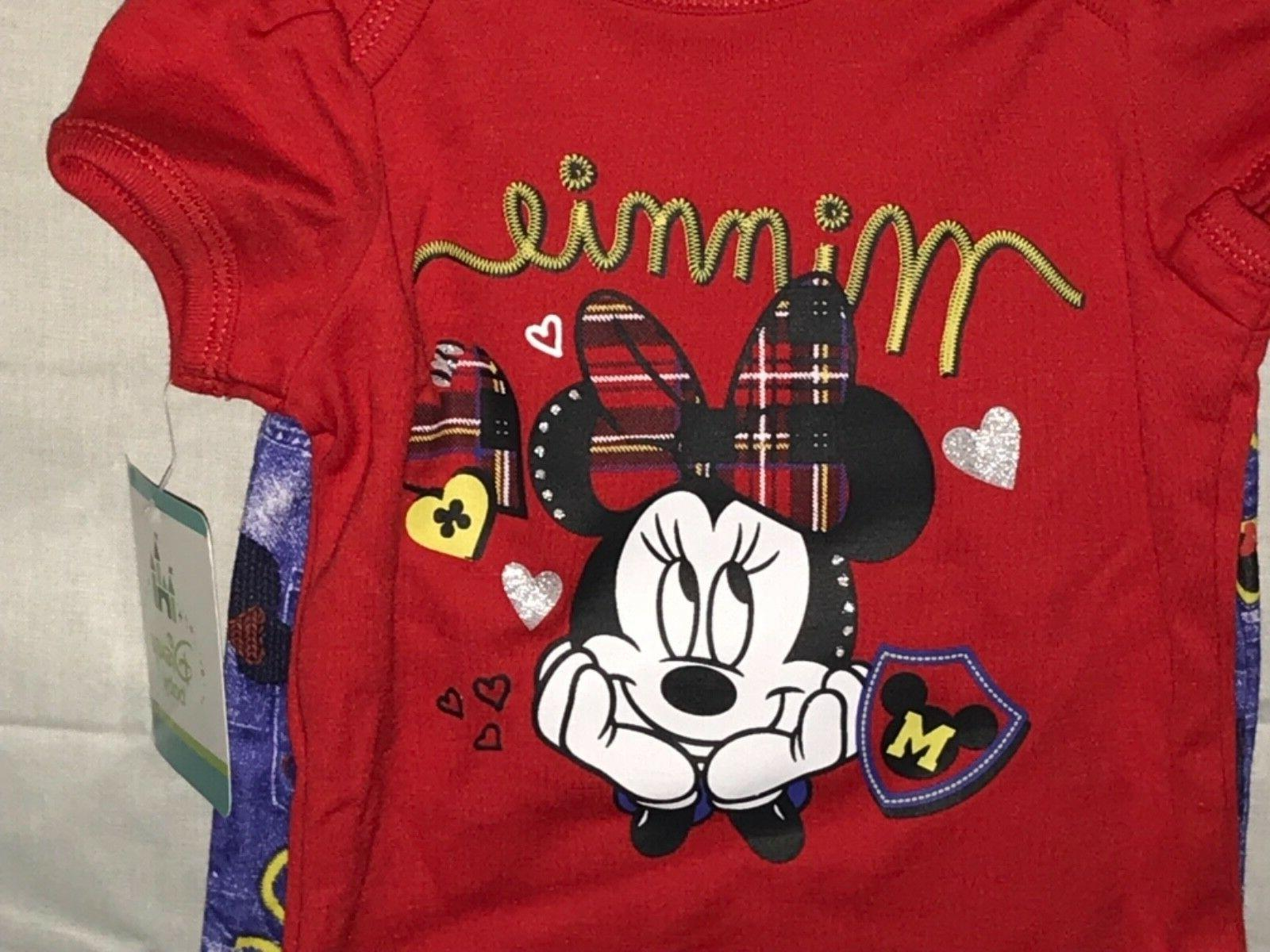 Minnie Outfit Set Size Months NWT