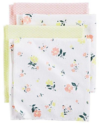 baby girls floral receiving blankets